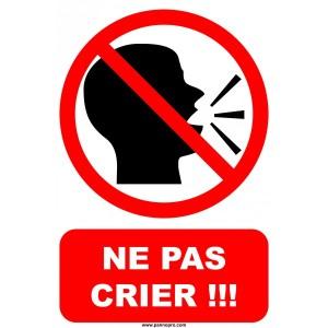 panneau-interdiction-de-crier