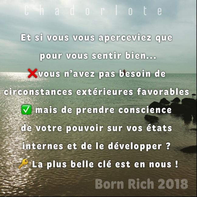DP quote born rich 2018